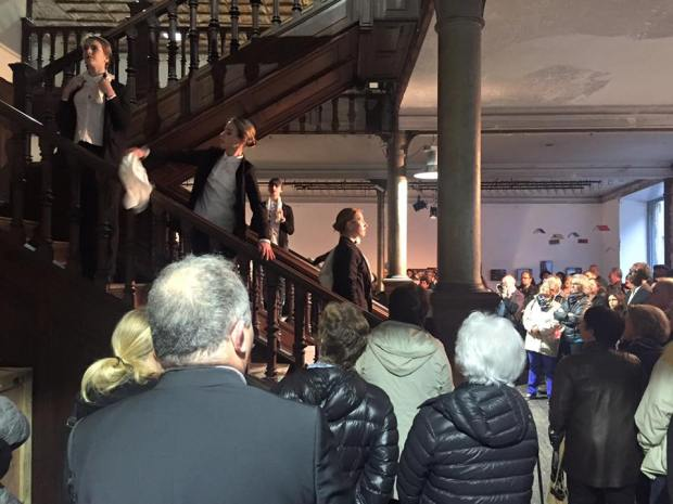 danse escalier