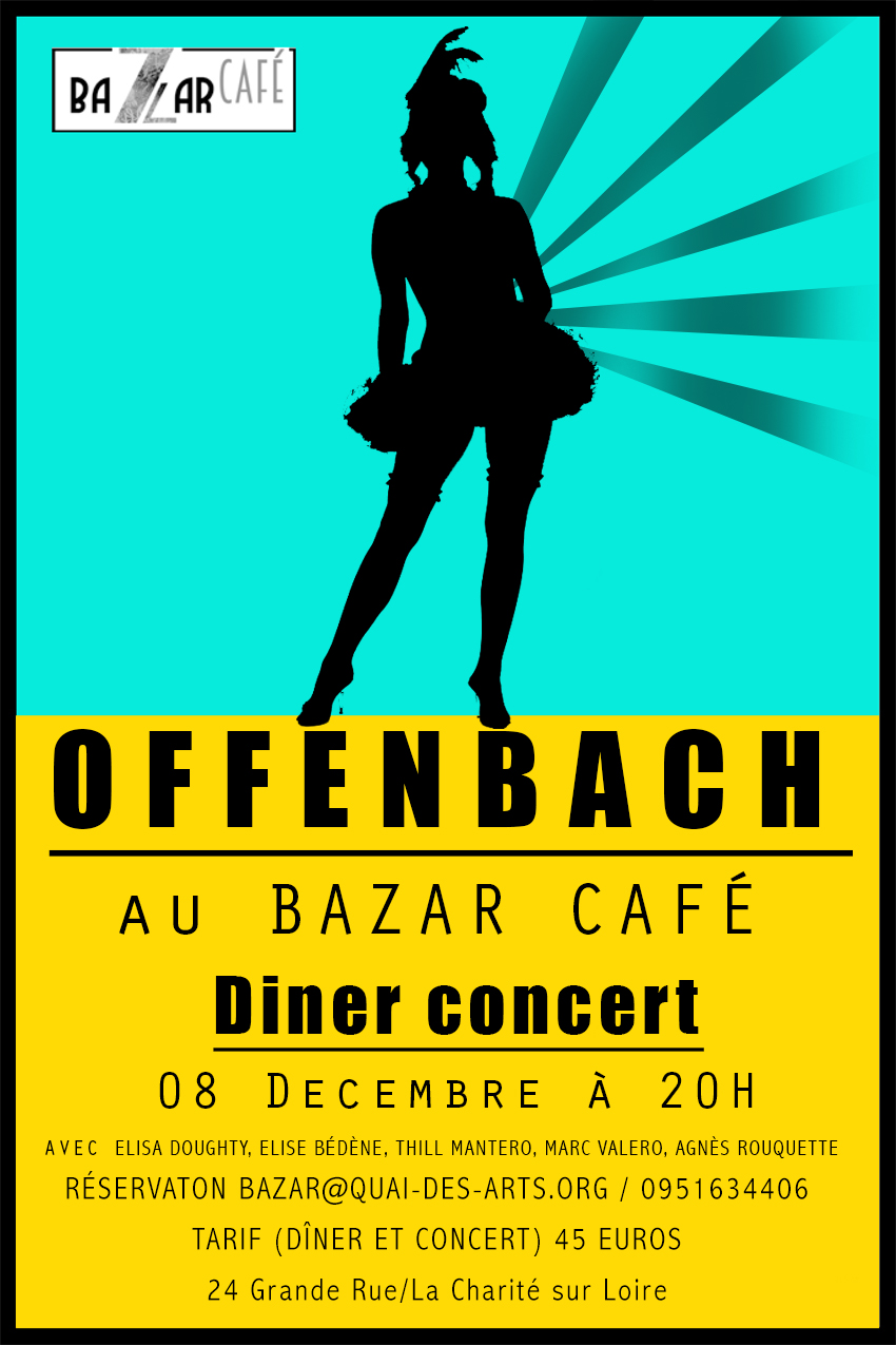 Affiche Offenbach